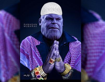 Thanos on ramadan