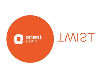 Orient Twist Ceiling Fan Concept