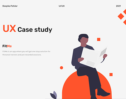 UX Case Study - FitMe