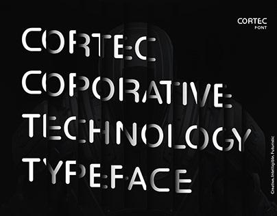 Cortec Typography Poster