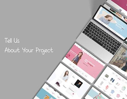 Free Perspective Macbook Screen Mock-Up
