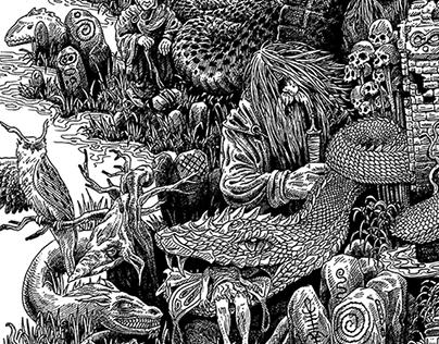 Mysterious tales of Irish folklore