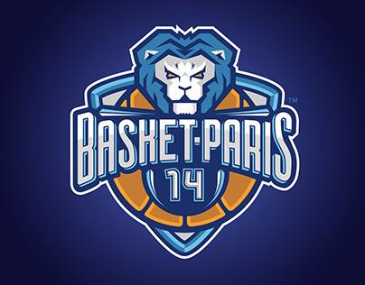 Basketball logo, BASKET-PARIS 14