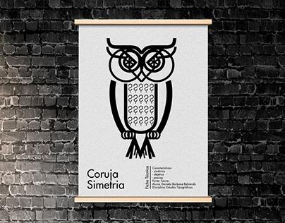 Typographic Owl