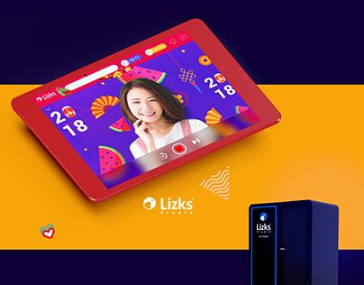 Lizks Studio UI - Tet Event