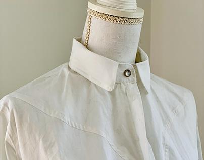 White Shirt w/ a Twist