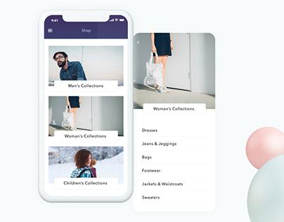 Violet Dreams_Mobile App. Product Design