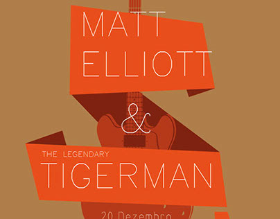 Legendary Tigerman & Matt Elliott Show. Casa da Música.