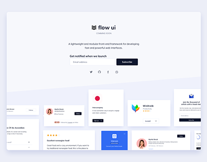 Day 1005 • Coming Soon UI Design
