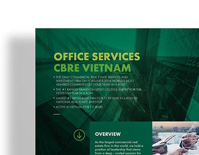 CBRE Vietnam Business Flyer