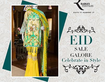 Eid Mubarak - Rabia's Textiles