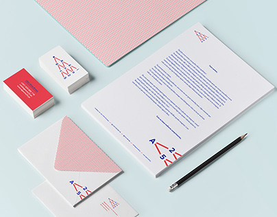 Logo and stationery for agency Agência 25.