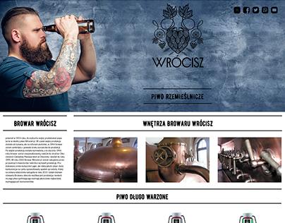 Template site Browar Wrocisz