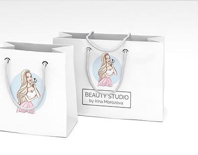 Logo and identity for Beauty Studio