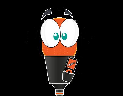Mascote ESCS FM