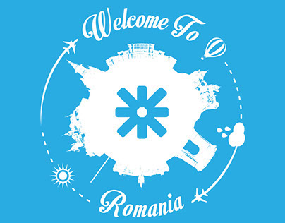 Graphic elements for ESN Romania