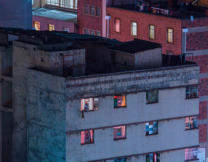 Fragments (Nightscapes: Johannesburg)