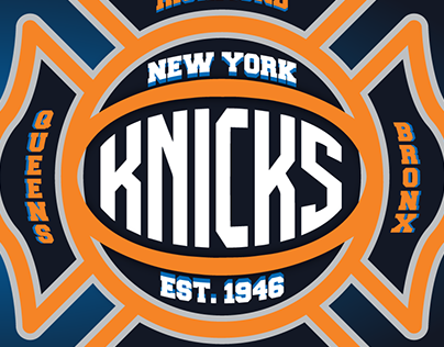 New York Knicks fantasy logo