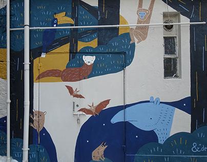 artlane mural