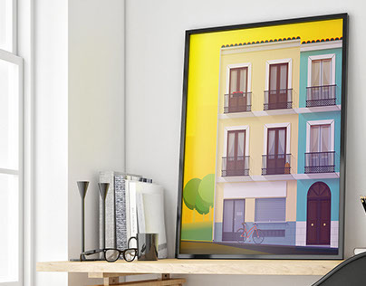 Malasaña - Illustration