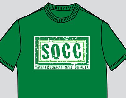 SOCC church wide shirt