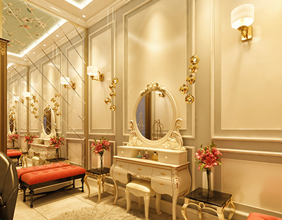 Title: Bridal Room Interior Location: Lahore