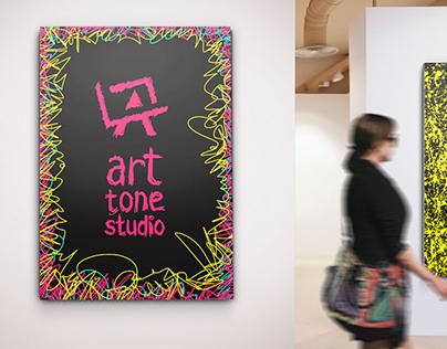 Logo and idenity design for Art Tone Studio