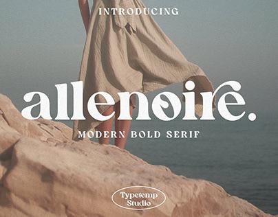 Modern Bold Serif