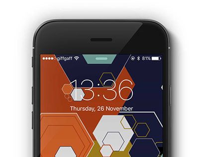 Hexagons | iPhone 6 background