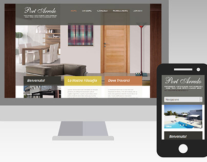 Portarredo - Web Design