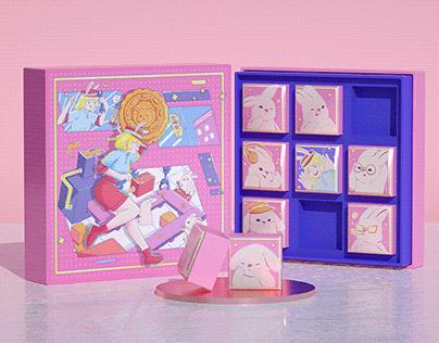 月亮工厂 - 月饼礼盒设计 Mooncake boxes