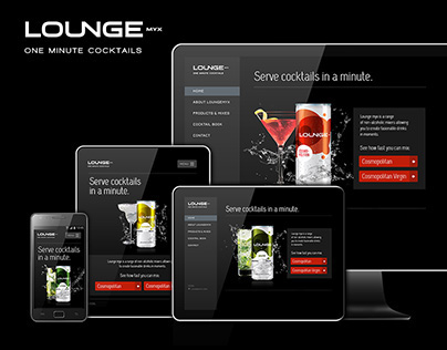 LoungeMyx webdesign