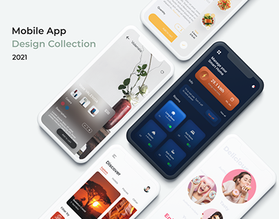 Mobile App Design Collection 2021