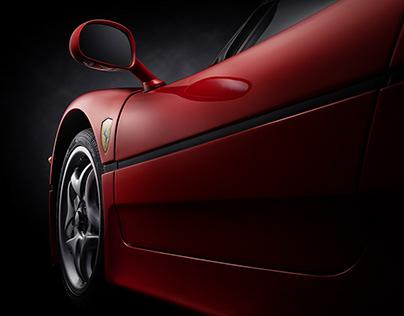 Ferrari F50 fine art shoot #carfineart