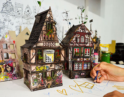 "Miniature house ""GERMAN SOL I."""