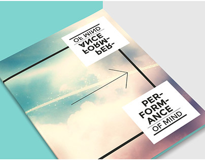 Performance of Mind / Print Piece / Ted Talks