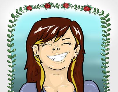 Ilustração de Personalidade