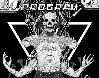 "Program 7"" inch e.p. cover"