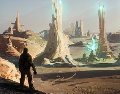 The Desert Planet - Concept Art