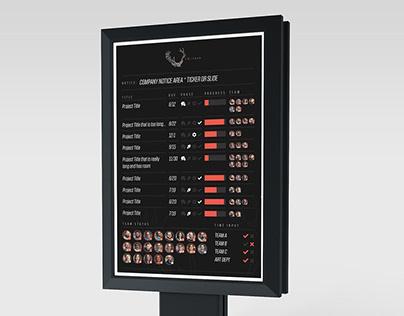 Company Infoboard