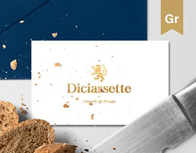 Diciassette | Italian Restaurant Branding