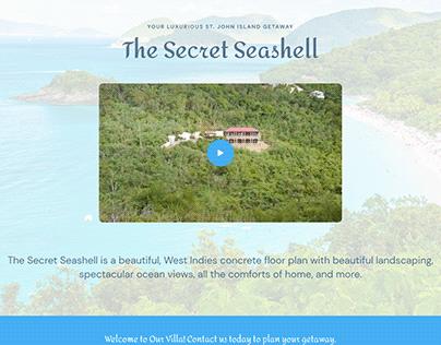 Secret Seashell Website Comp