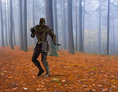 Knight Moves - A Samba In The Woods