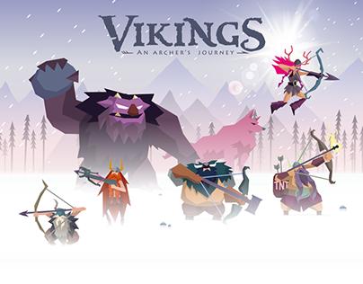 Vikings - an archer's journey