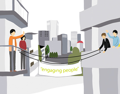 """Engaging People"" // Illustration"
