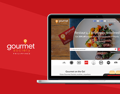 Gourmet Society PH - Website