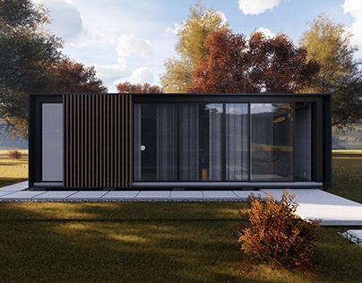 Cabin House Design Concept
