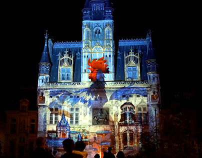the great war video mapping
