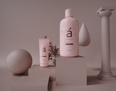Beauty care packaging design
