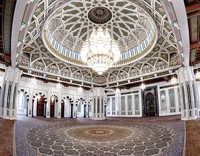 CG Visualization of Sultan Qaboos Grand Mosque